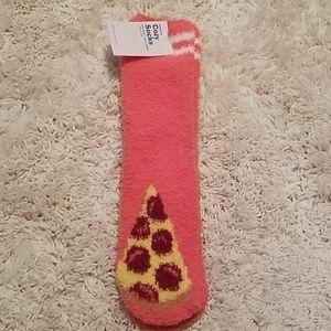 NWT Pizza Socks